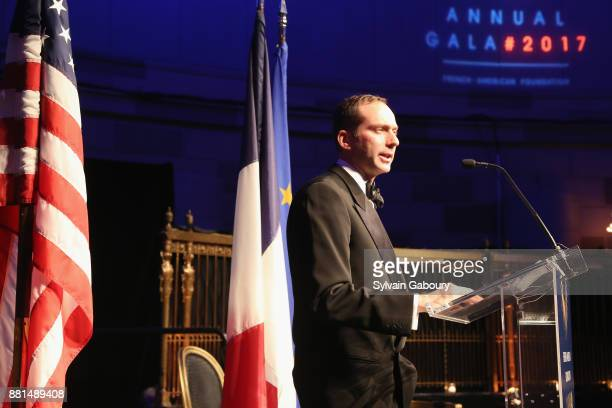 Scott Handler attends French American Foundation Annual Gala 2017 at Gotham Hall on November 28 2017 in New York City