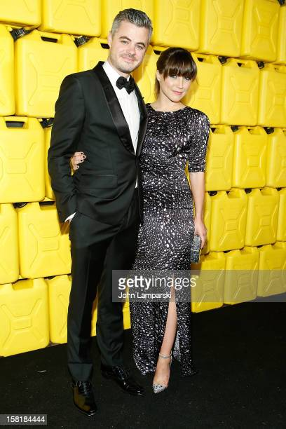 Scott Harrison and Sophia Bush attend 7th Annual Charity Ball Benefiting CharityWater at the 69th Regiment Armory on December 10 2012 in New York City