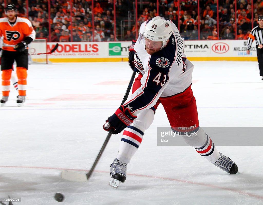 Columbus Blue Jackets v Philadelphia Flyers : News Photo