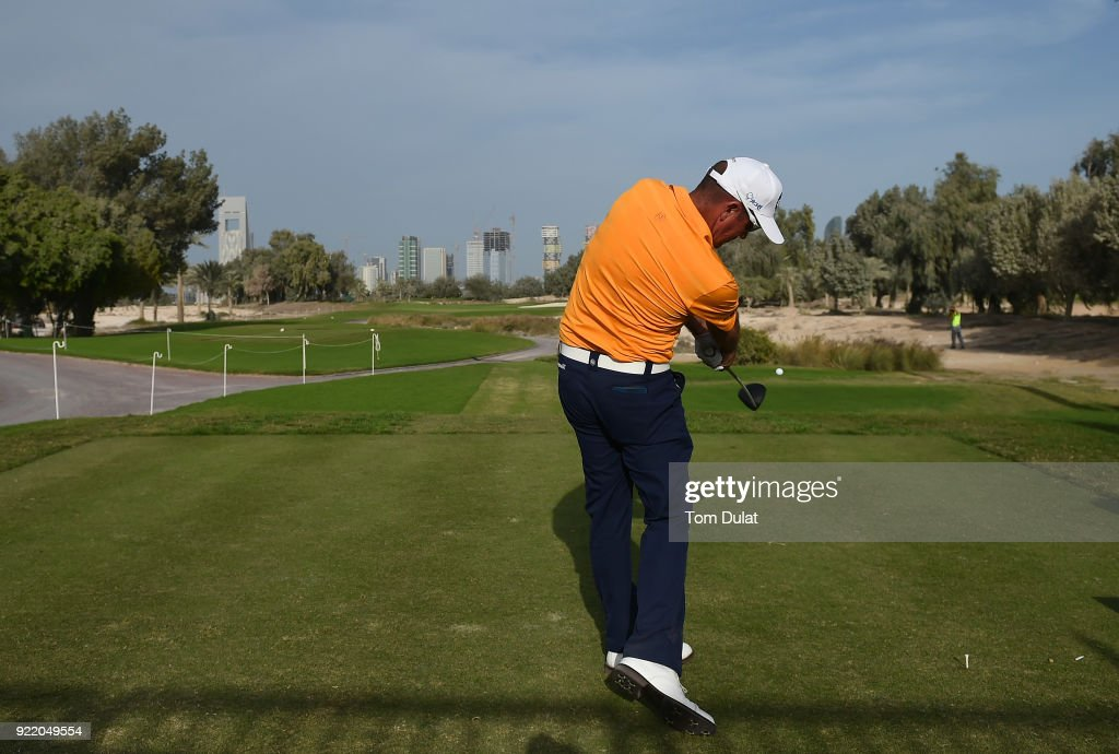 Commercial Bank Qatar Masters - Previews : News Photo