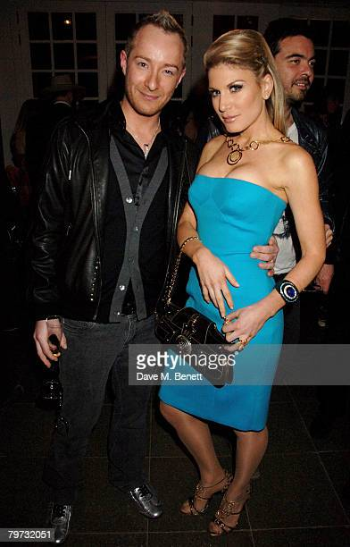 Scott Henshall and Hofit Golan attends the launch party of the Vivienne Westwood Opus at the Serpentine Gallery on February 12 2008 in London England