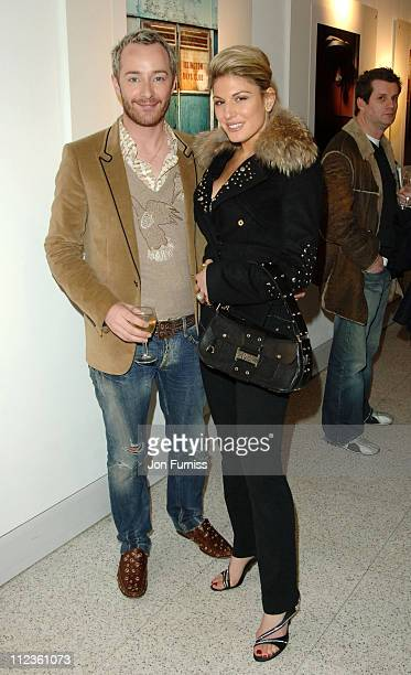 Scott Henshall and Hofit Golan during Petra Nemcova Hosts Evening to Remember Simon Atlee March 23 2006 at Frith Street in London Great Britain