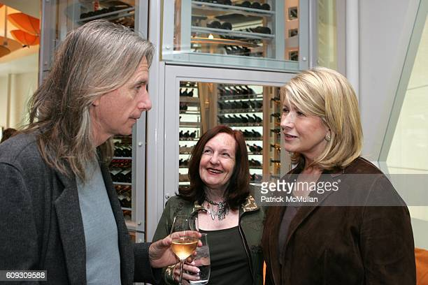 Scott Hicks Kerry Heysen and Martha Stewart attend MARTHA STEWART SIRIO MACCIONI and ANDREW BORROK Host a Lucheon to Celebrate 'NO RESERVATIONS' at...