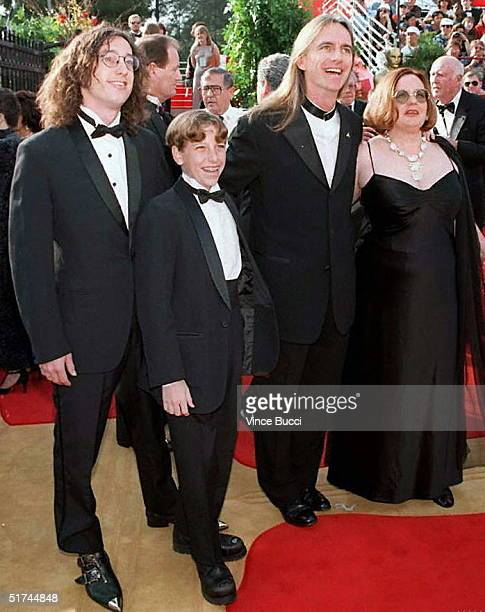 Scott Hicks the Oscar nominee for best director for the movie Shine and his family arrive at the 69th Annual Academy Awards 24 March in Los Angeles...