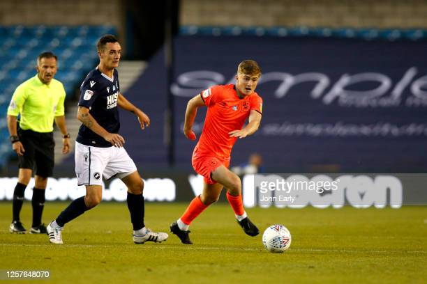Scott High of Huddersfield Town during the Sky Bet Championship match between Millwall and Huddersfield Town at The Den on July 22 2020 in London...