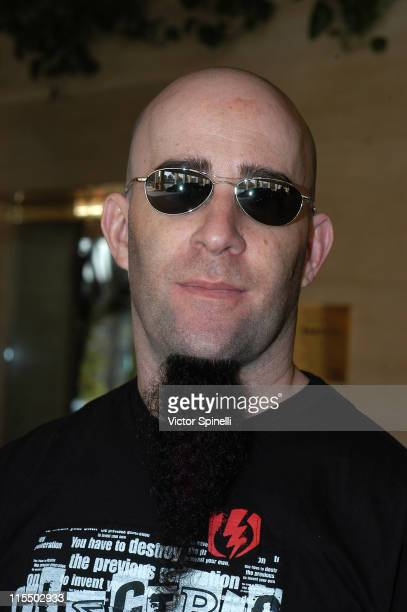 Scott Ian of Anthrax during 2005 NAMM Music Conference at Anaheim Convention Center in Anaheim California United States