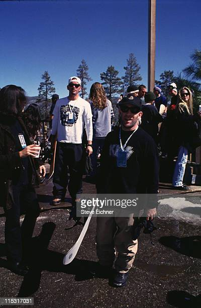Scott Ian of Anthrax during Board Aid Lifebeat Benefit 3151995 at Big Bear California United States
