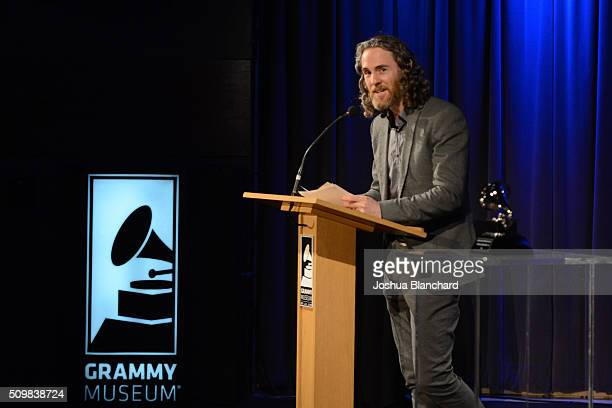 Scott Jacoby attends the Technical GRAMMY Ceremony for The 58th GRAMMY Awards at The GRAMMY Museum on February 12 2016 in Los Angeles California