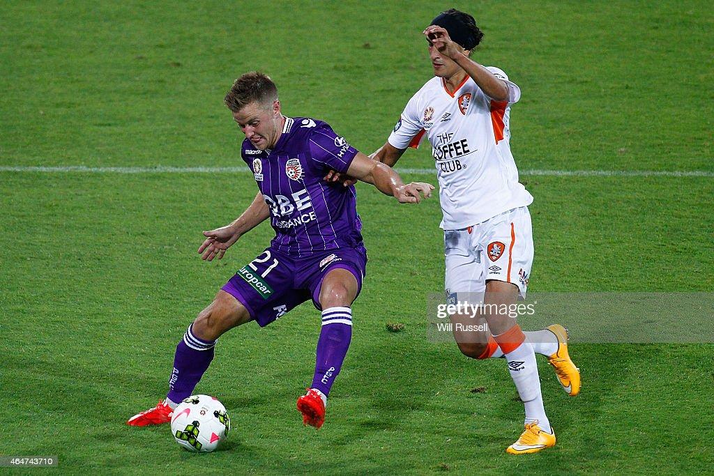 A-League Rd 19 - Perth v Brisbane