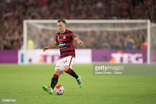 Scott Jamieson of the Wanderers in action during the round 20 ALeague match between Sydney FC and Western Sydney Wanderers at Allianz Stadium in...