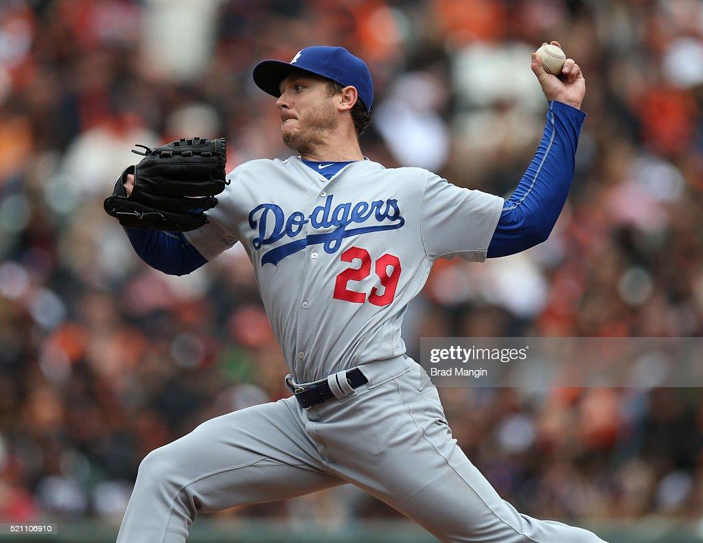 Los Angeles Dodgers v San Francisco Giants : ニュース写真