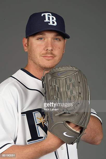 Scott Kazmir of the Tampa Bay Rays poses during Photo Day on February 20, 2009 at the Charlotte County Sports Park in Port Charlotte, Florida.