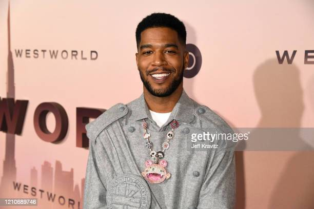 "Scott ""Kid Cudi"" Mescudi attends the Los Angeles Season 3 premiere of the HBO drama series ""Westworld"" at TCL Chinese Theatre on March 05, 2020 in..."