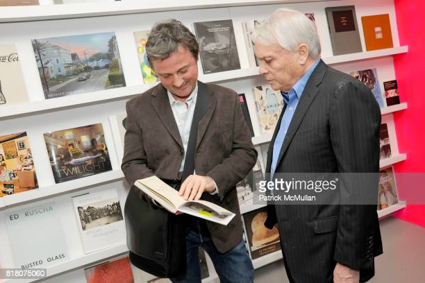 Scott Kilgour and John Reinhold attend Book Signing of Andy Warhol Making Money with BERKELEY REINHOLD VINCENT FREMONT at Gagosian Shop on September...
