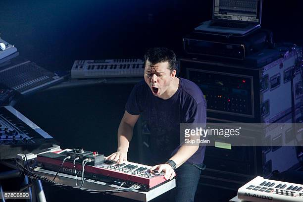 Scott Kirkland of The Crystal Method performs at the House of Blues on May 17 2009 in New Orleans Louisiana