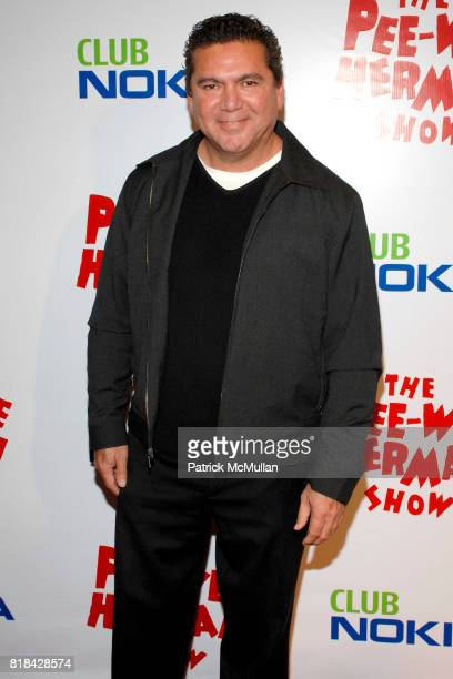 Scott L Montoya attends The Pee Wee Herman Show Opening Night at Club Nokia on January 20 2010 in Los Angeles California