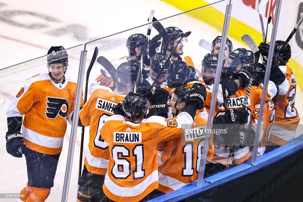 New York Islanders v Philadelphia Flyers - Game Five : Photo d'actualité