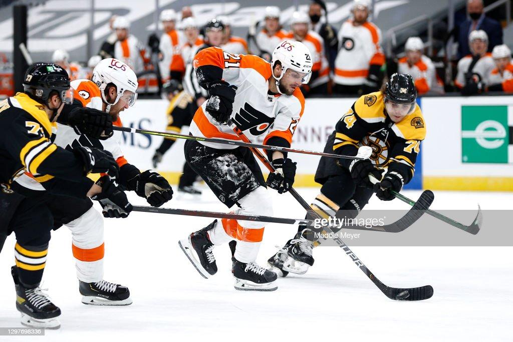 Philadelphia Flyers v Boston Bruins : Fotografia de notícias