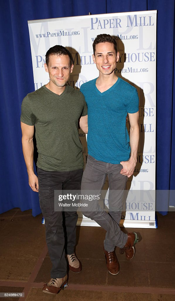 Usa the little mermaid meet greet pictures getty images scott leiendecker sean patrick doyle attending the meet greet the company of the paper m4hsunfo