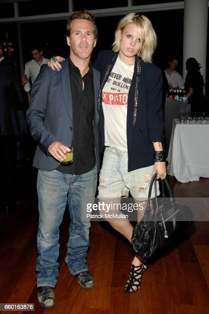 Scott Lipps and Becka Diamond attend Scott Lipps President of One Management's Birthday at Cooper Square Hotel on July 29 2009 in New York City