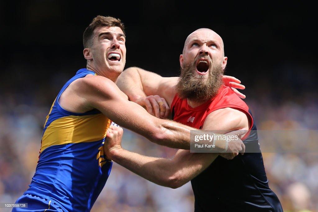 AFL Preliminary Final - West Coast v Melbourne