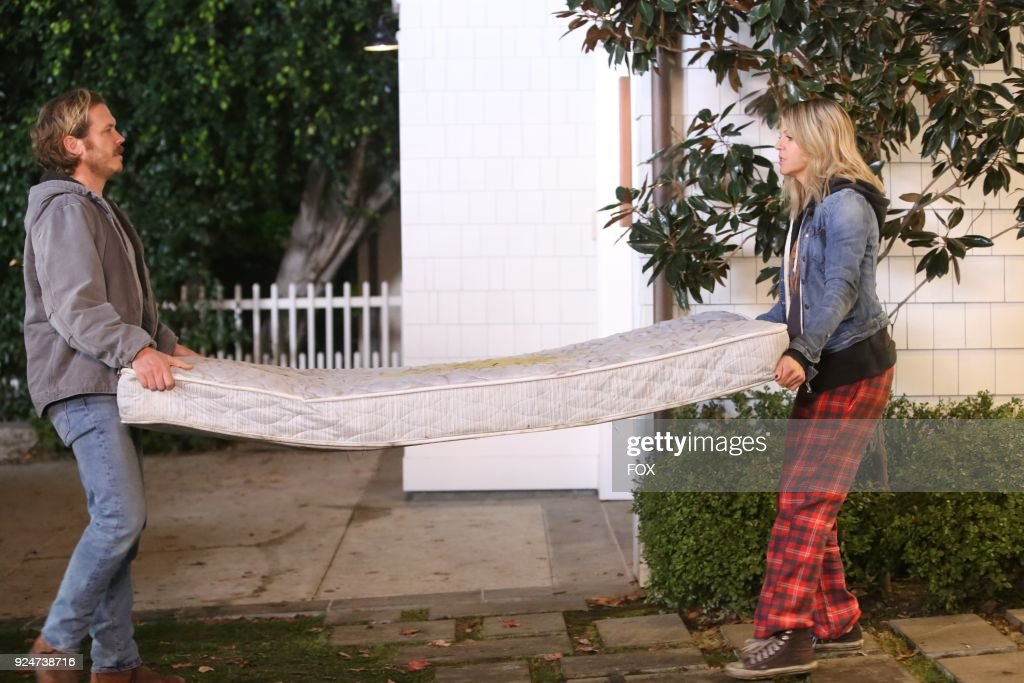 Scott MacArthur and Kaitlin Olson in the The Accident episode of THE MICK airing Tuesday, March 6 (9:30-10:00 PM ET/PT) on FOX.