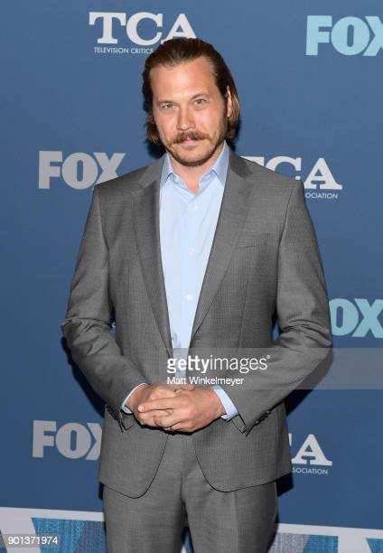 Scott MacArthur attends the FOX AllStar Party during the 2018 Winter TCA Tour at The Langham Huntington Pasadena on January 4 2018 in Pasadena...