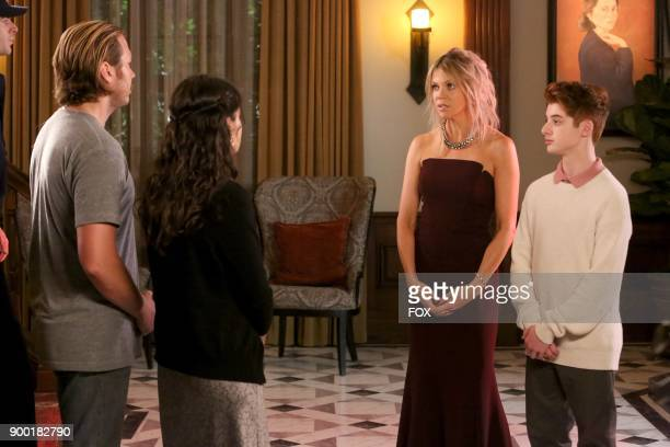 Scott MacArthur Sofia BlackDElia Kristin Olson and Thomas Barbusca in the 'The Lovers' episode of THE MICK airing Tuesday Nov 7 on FOX