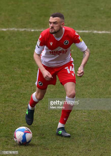 Scott Malone of Millwall during the Sky Bet Championship match between Coventry City and Millwall at St Andrew's Trillion Trophy Stadium on May 8,...