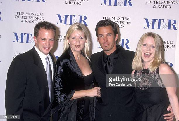 Scott Martin Dee Dee Hemby Actor Dan Cortese and Actress Lauralee Bell attend the 'Museum of Television and Radio Gala Salute to James Burrows and...
