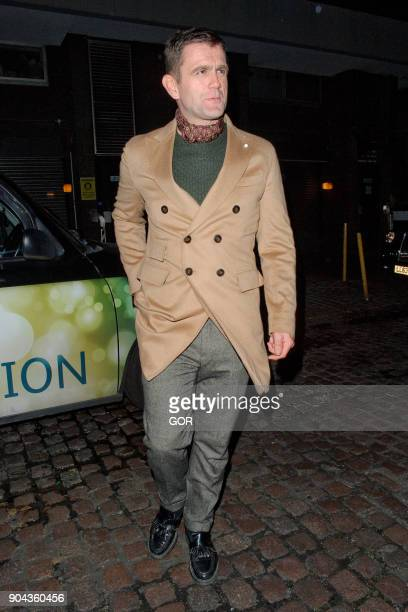 Scott Maslen sighting at the Chiltern Firehouse on January 12 2018 in London England