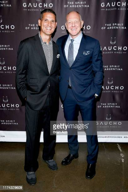 Scott Mathis attends the Gaucho Buenos Aires runway show at New York Fashion Week at The Kitchen NYC on September 12 2019 in New York City