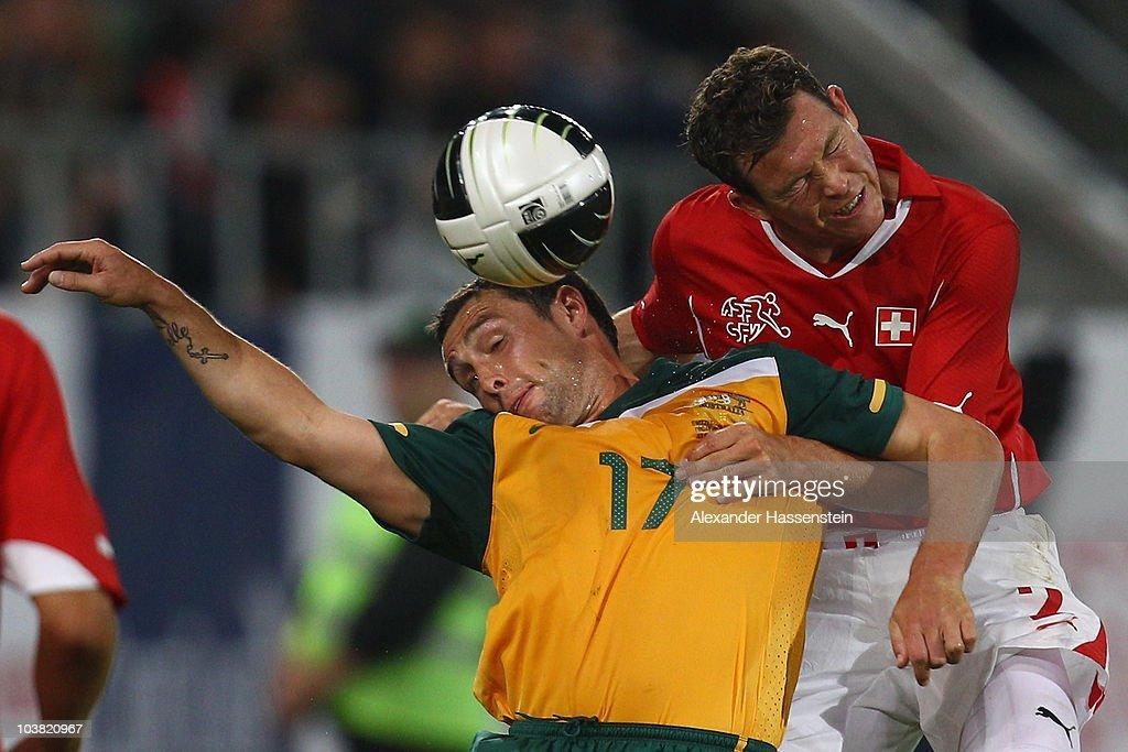 Switzerland v Australia - International Friendly
