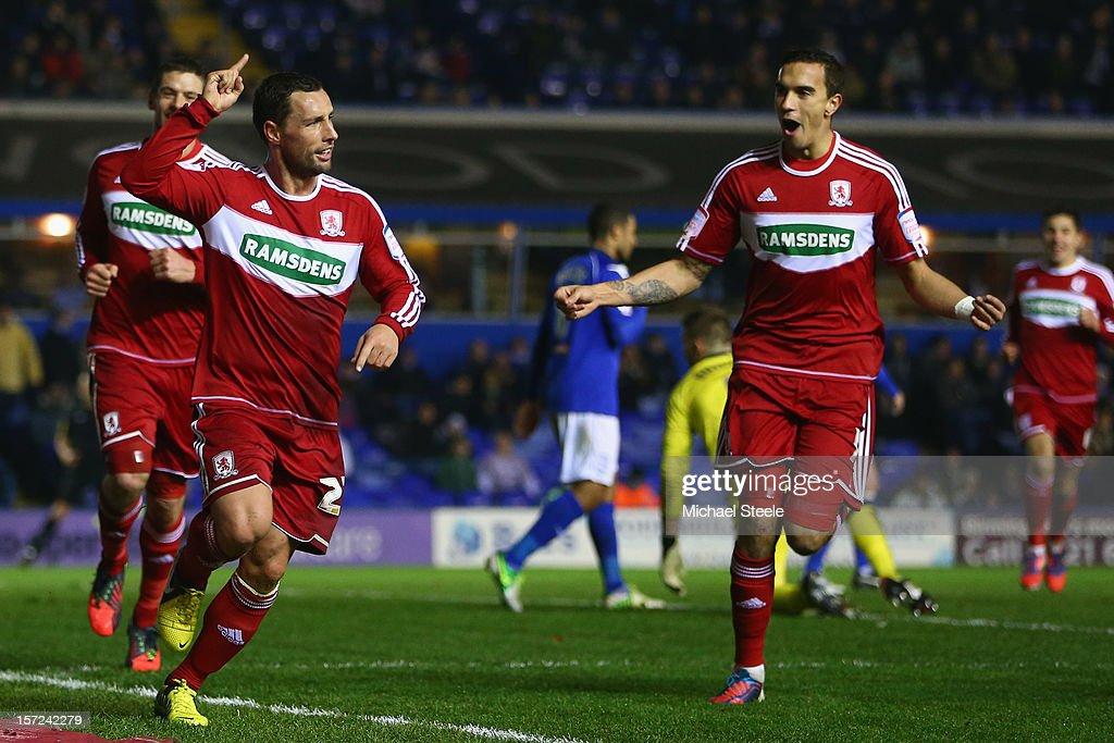 Birmingham City v Middlesbrough - npower Championship