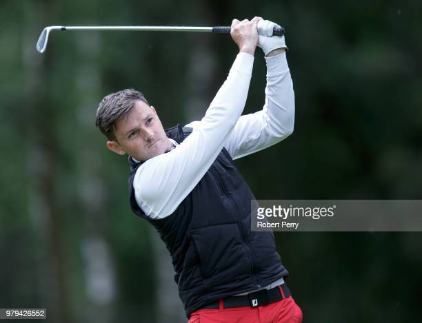 Scott McGrenaghan during the Lombard Trophy Scottish Qualifier at Rosemount Course Blairgowrie Golf Club on June 20 2018 in Perth Scotland