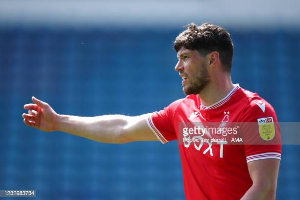 Scott McKenna of Nottingham Forest during the Sky Bet Championship match between Sheffield Wednesday and Nottingham Forest at Hillsborough Stadium on...