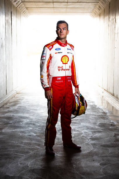 AUS: Scott McLaughlin Portrait Session