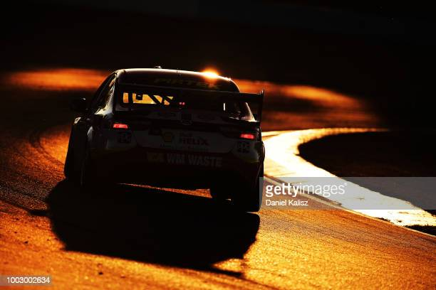 Fabian Coulthard drives the Shell VPower Racing Team Ford Falcon FGX during race 19 of the Supercars Ipswich SuperSprint on July 21 2018 in Brisbane...