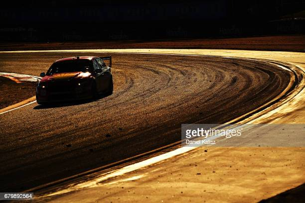 Scott McLaughlin drives the Shell VPower Racing Team Ford Falcon FGX during race 8 for the Perth SuperSprint which is part of the Supercars...