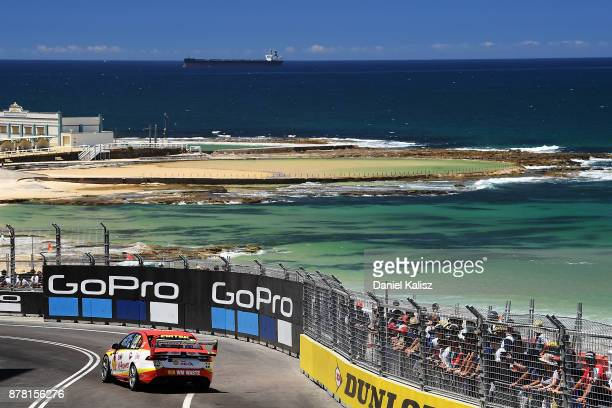 Scott McLaughlin drives the Shell VPower Racing Team Ford Falcon FGX during practice 2 for the Newcastle 500 which is part of the Supercars...