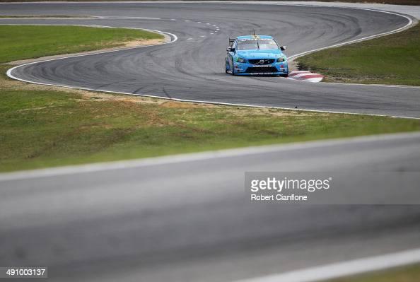 Lee Holdsworth of the Valvoline Cummins Race Team drives