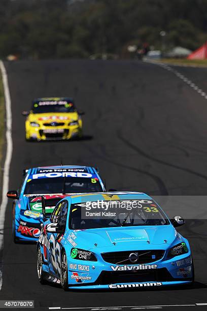 Scott McLaughlin drives the Valvoline Racing GRM Volvo during the Bathurst 1000 which is round 11 and race 30 of the V8 Supercars Championship Series...