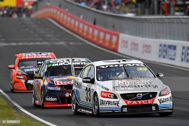 Scott McLaughlin drives the Wilson Security Racing GRM Volvo S60 during the Bathurst 1000 which is race 21 of the Supercars Championship at Mount...