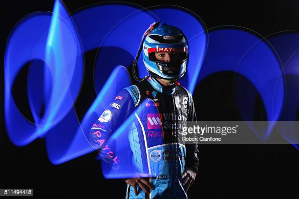 Scott McLaughlin of Wilson Security Racing GRM Volvo poses during a V8 Supercars portrait session on February 19 2016 in Melbourne Australia