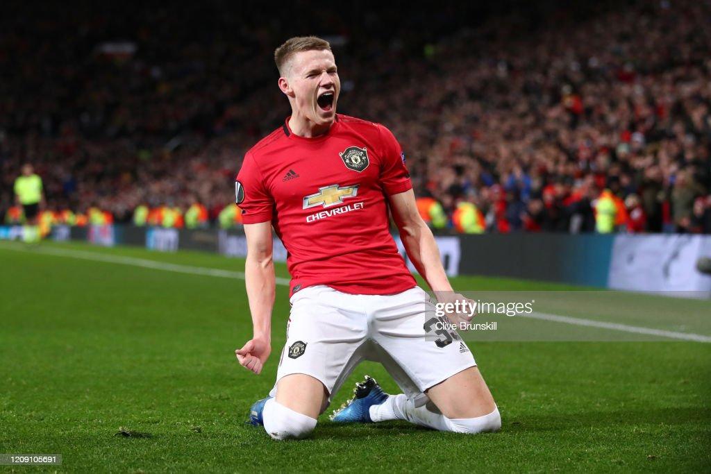 Manchester United v Club Brugge - UEFA Europa League Round of 32: Second Leg : News Photo