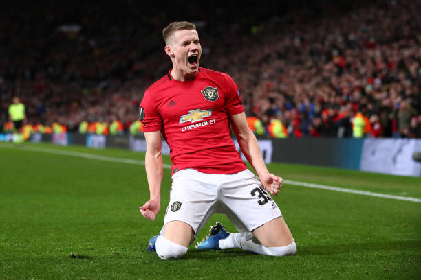 GBR: Manchester United v Club Brugge - UEFA Europa League Round of 32: Second Leg