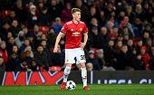 scott mctominay manchester united during uefa