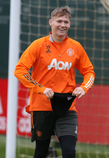 GBR: Manchester United Training Session