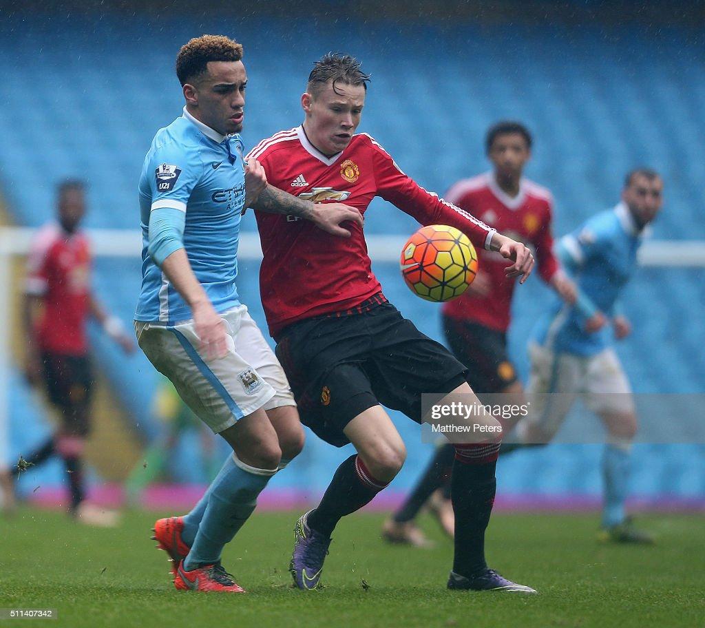 Manchester City v Manchester United: U21 Premier League : News Photo