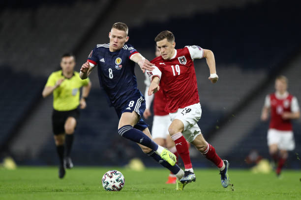 GBR: Scotland v Austria - FIFA World Cup 2022 Qatar Qualifier